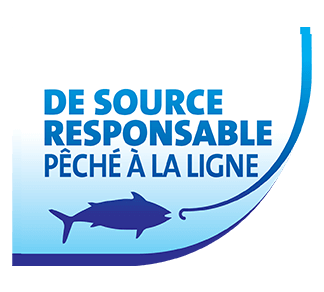 Responsibly Sourced, Line Caught logo
